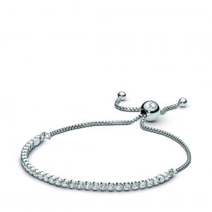 Kate Fowler – Pandora Sparkling Slider Tennis Bracelet