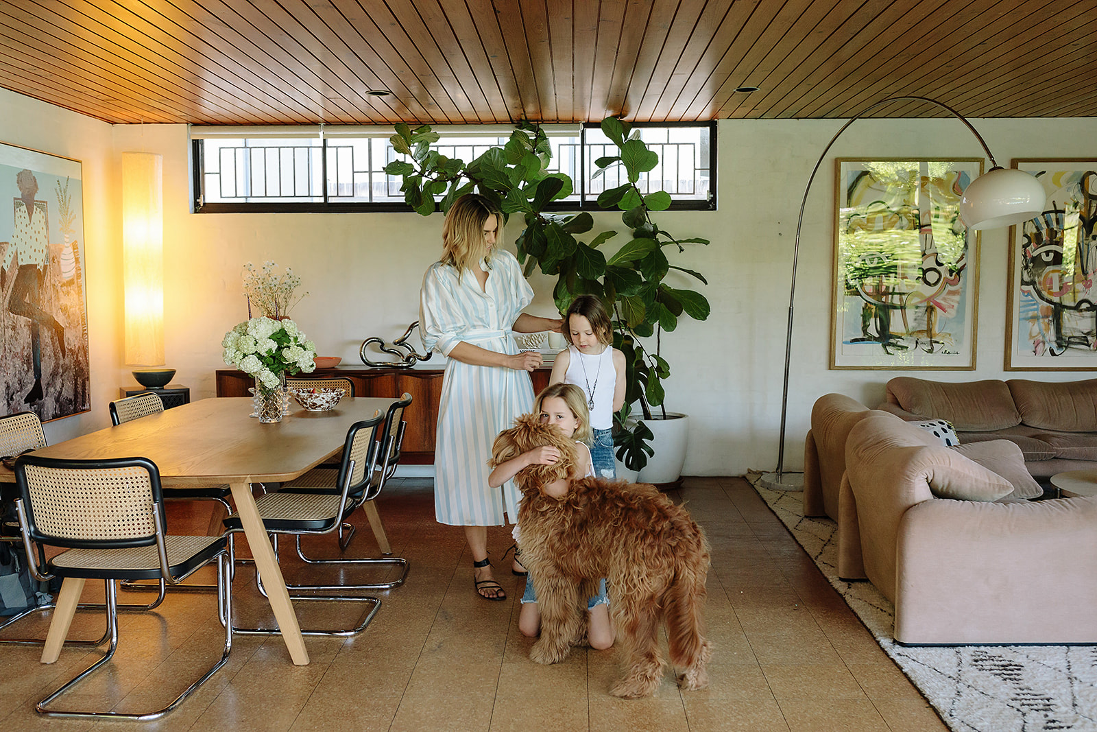Twin Mama Lill Jenner Opens Up Her Modernist Home & Shares Her Fashion Tips