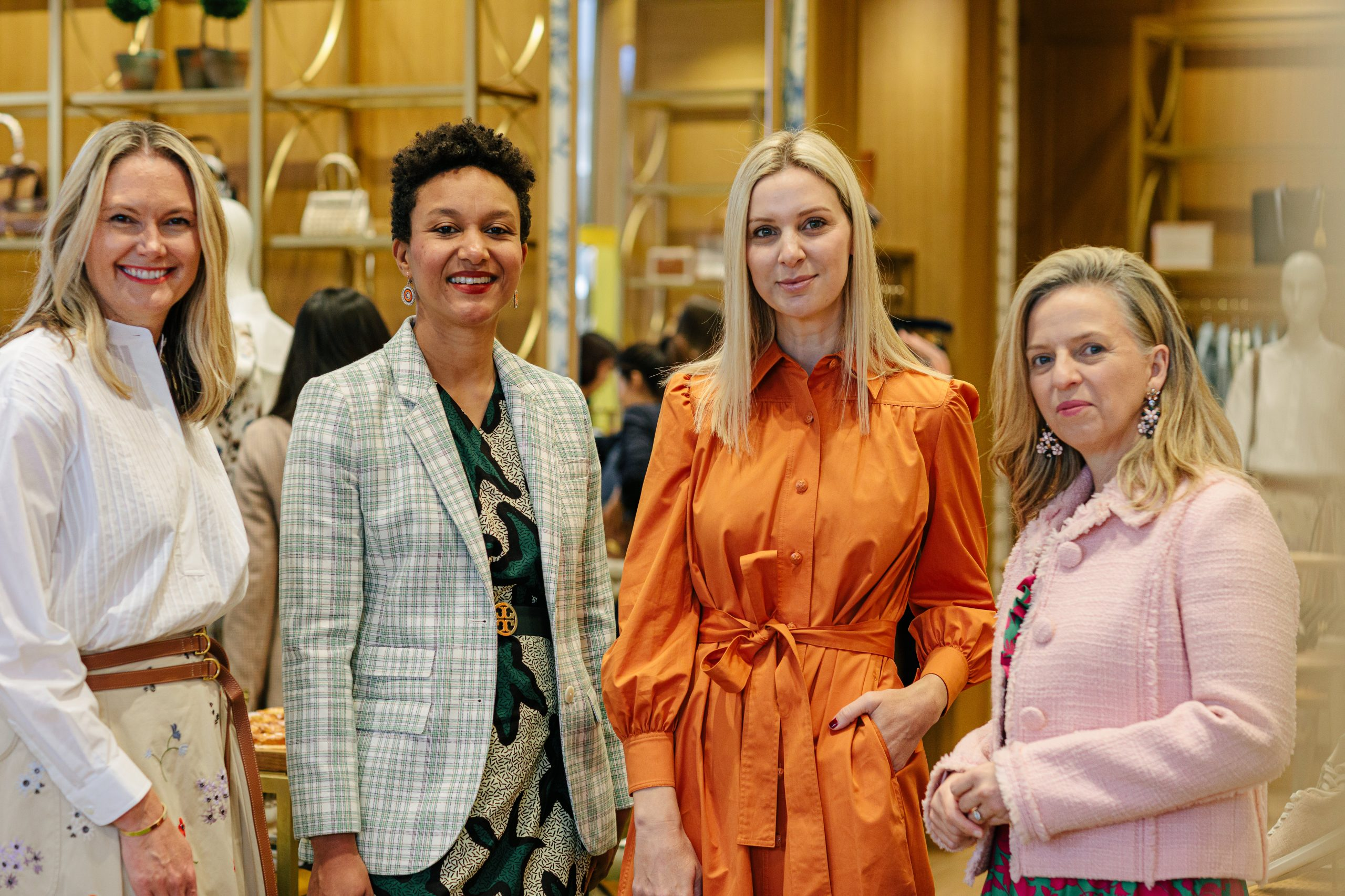 Come Behind the Scenes at our First IRL Event in Over a Year, at Tory Burch Chadstone